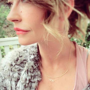 Maya Brenner Mom Necklace
