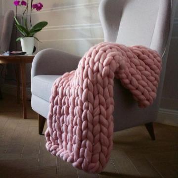 Medium Chunky Knit Throw