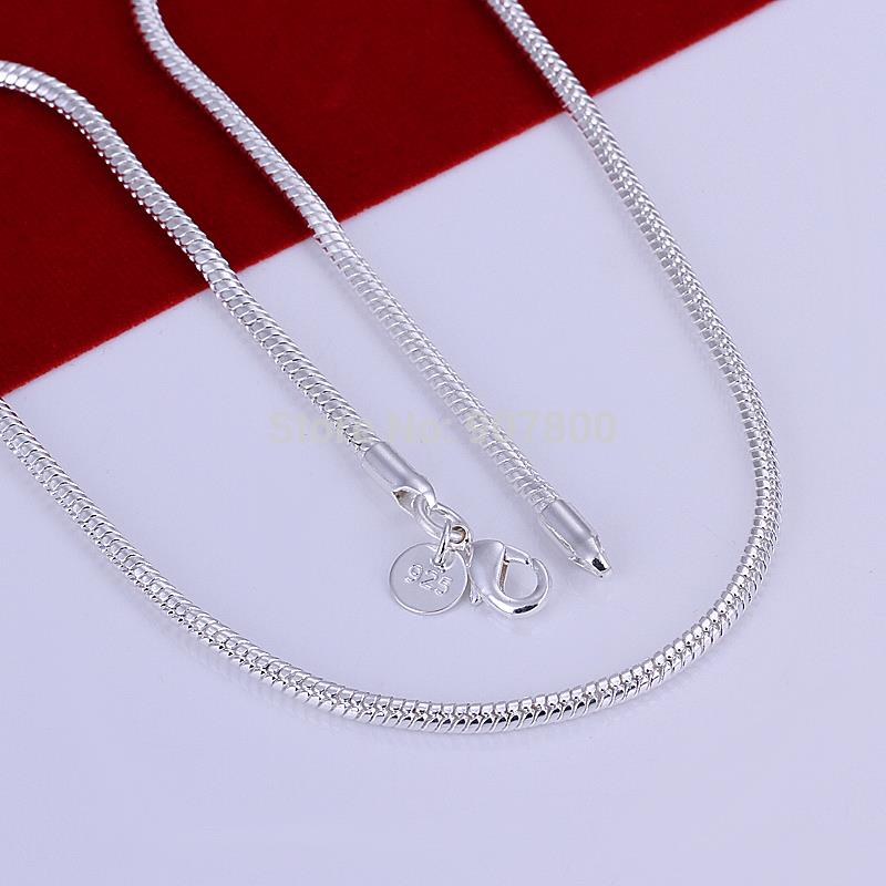 Free Silver Sterling Snake Chain Necklace