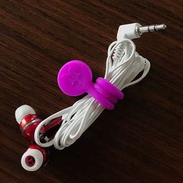 TwistieMag Magnetic Headphone Earphone Cord Wrap