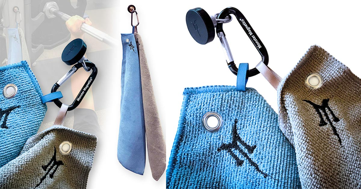 SportMag - The Magnetic Gym Towel