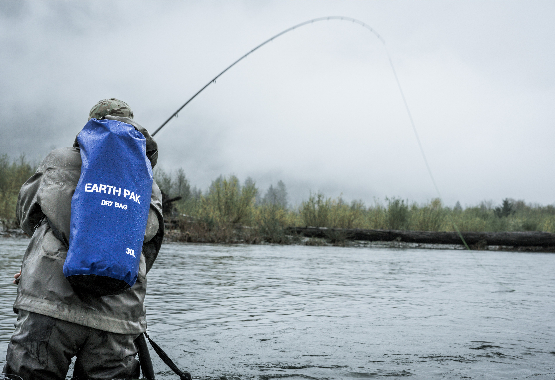 Here's 5 reasons why you should fish in bad weather!