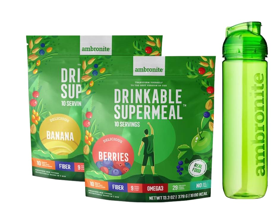Ambronite Supermeal Big Trial Pack