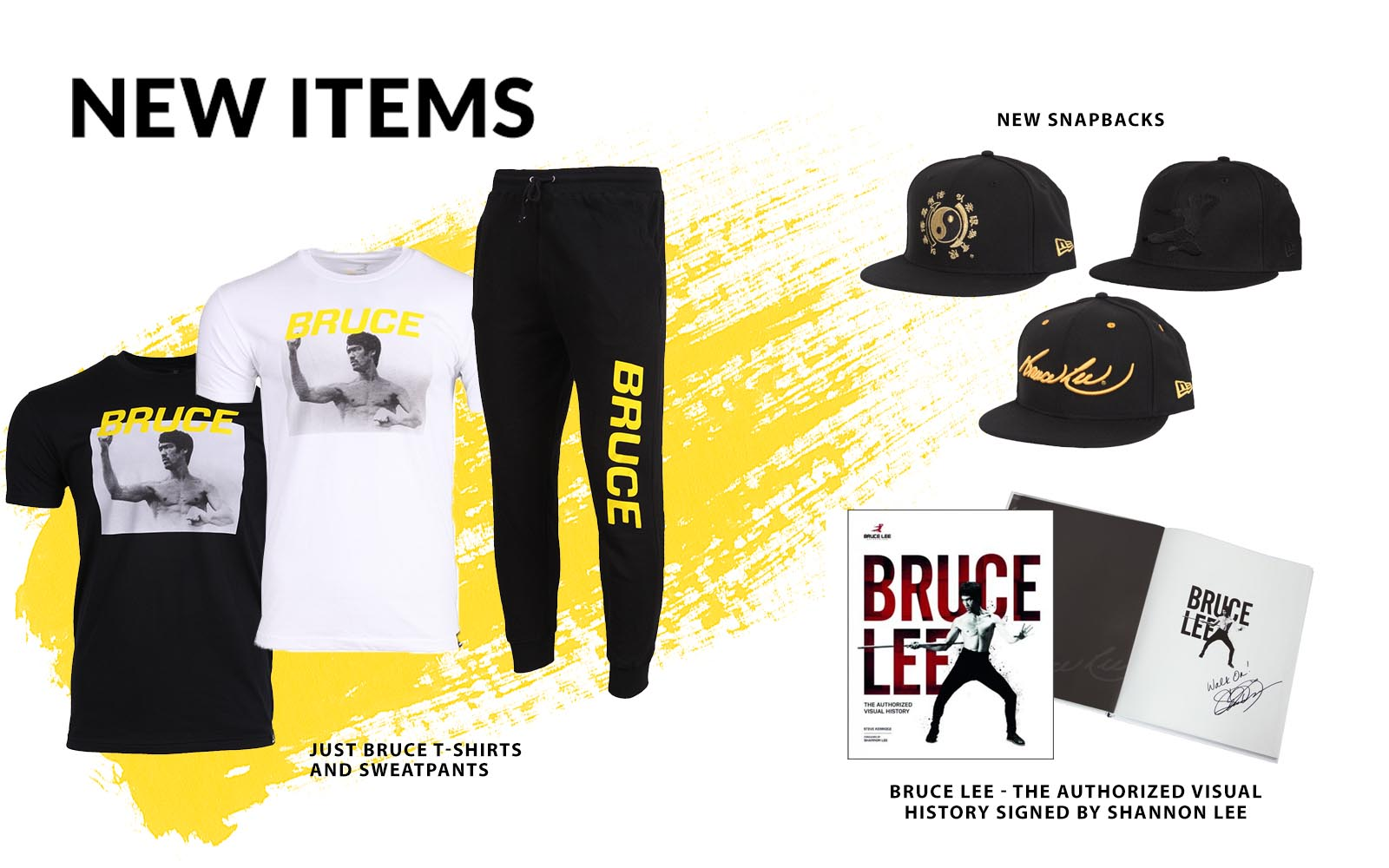 New Items | Shop The Bruce Lee Family Store