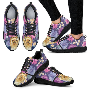 Yorkshire Terrier Sweetheart Athletic Sneakers