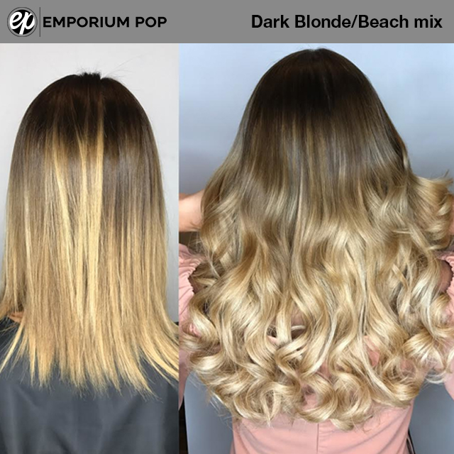 2x Invisible Halo Hair Extensions