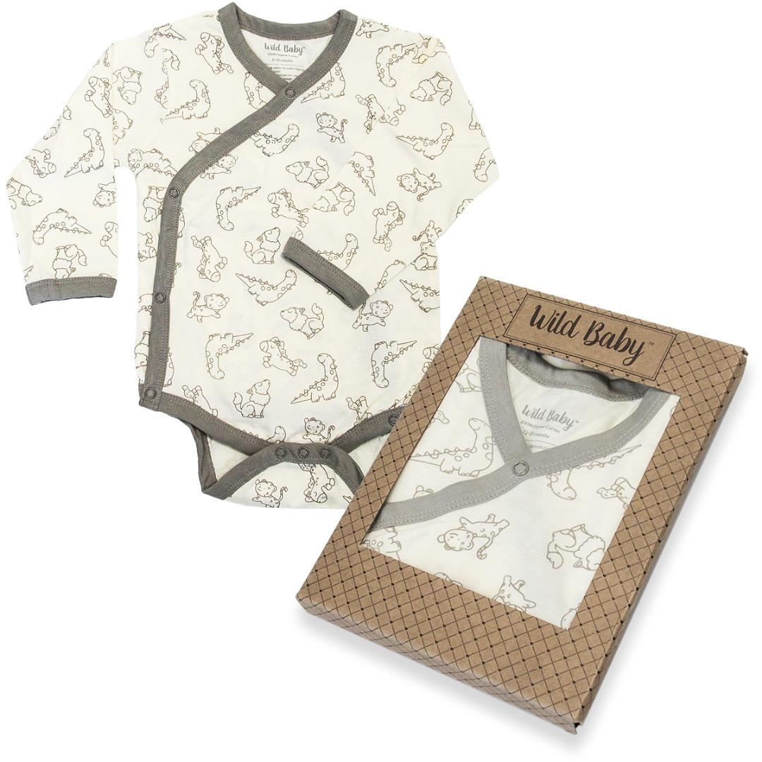 WildBaby Organic Kimono Bodysuit