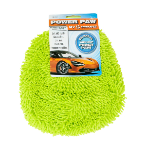 POWER PAW Top Quality Microfiber Chenille Car Wash Mitt