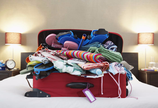 packing cubes make it easy to travel organized