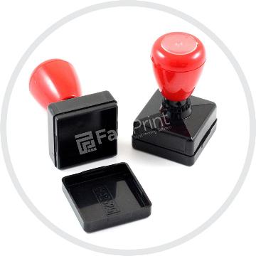 Gagang-Stempel-Flash-Persegi-Ukuran-25x25-MM