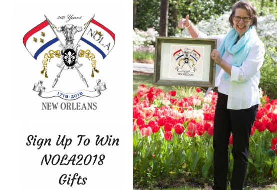 Sign Up For Chance To Win NOLA2018 Gifts