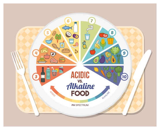 Alkaline vs Acidic Food Plan