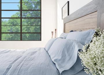 Linen Bundle Set on Bed