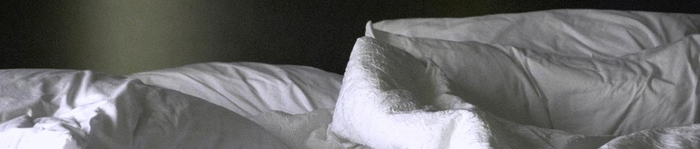 Linen Bundle Set on Bed Third Angle