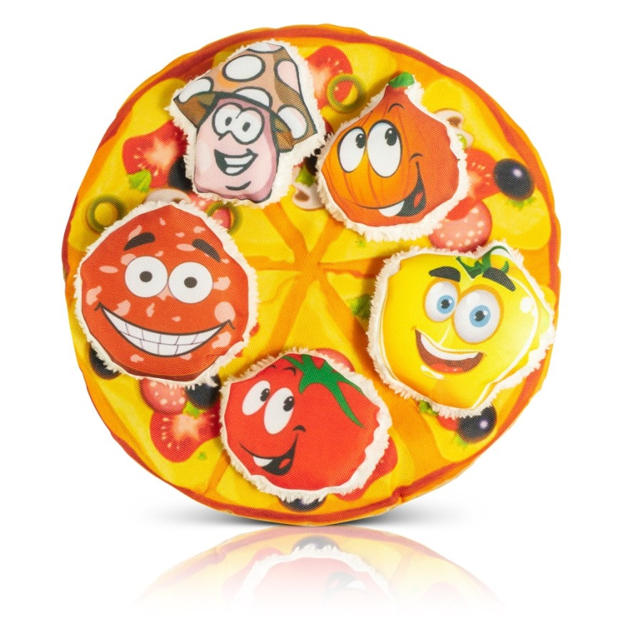Easyology Pets Cat Pizza - All 5 Members of Posse - Toppings Solo