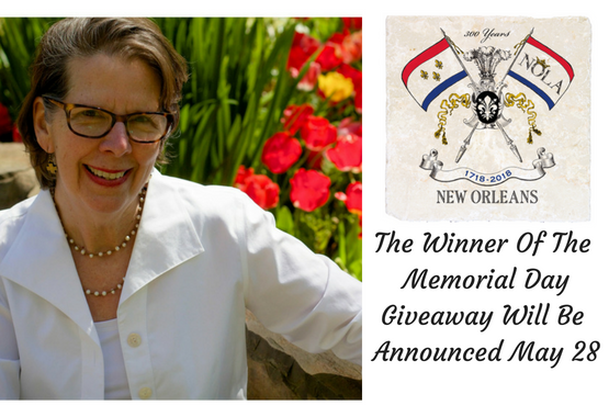 Winner of Memorial Day Giveaway will be announced on May 28