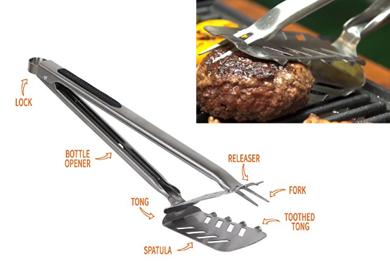 7 in 1 bbq tool