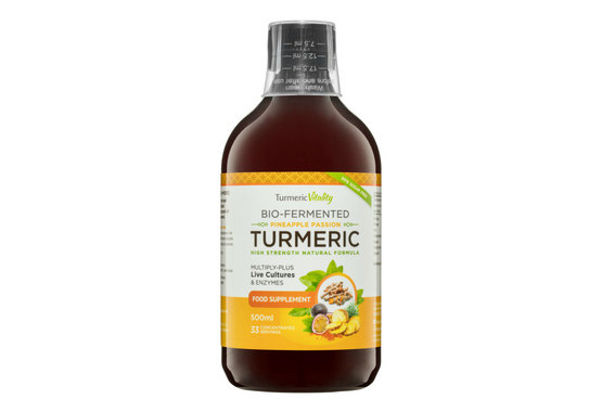 Bio-fermented Turmeric drink