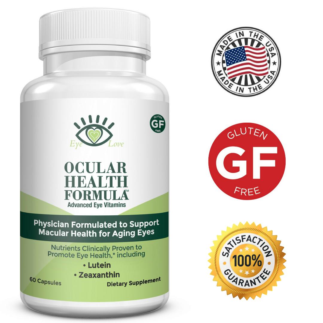 Eye Love Ocular Health Formula for Macular Degeneration
