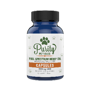 Full Spectrum Hemp Oil Pet CBD Capsules 300mg