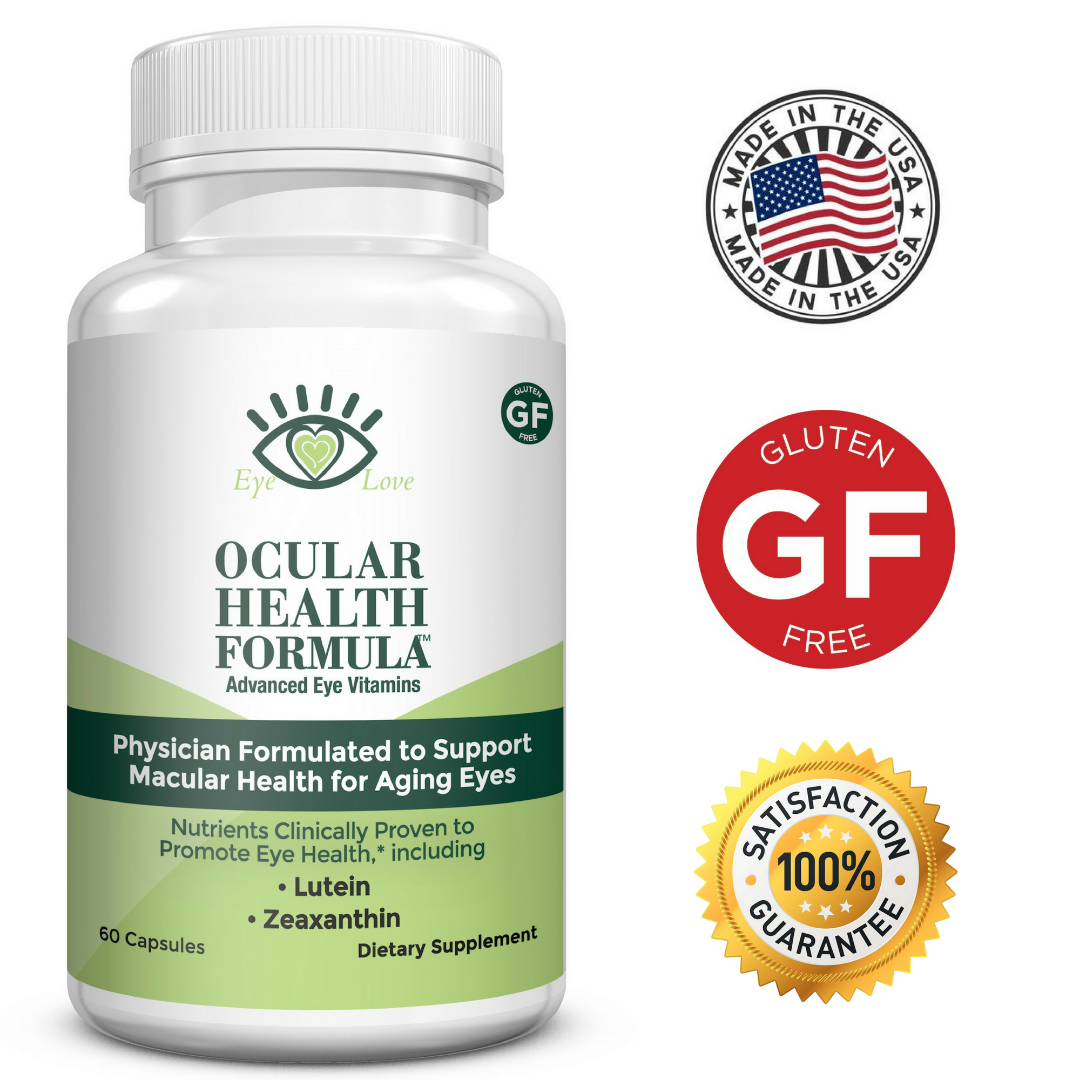 Eye Love Ocular Health Formula for Macular Degeneration