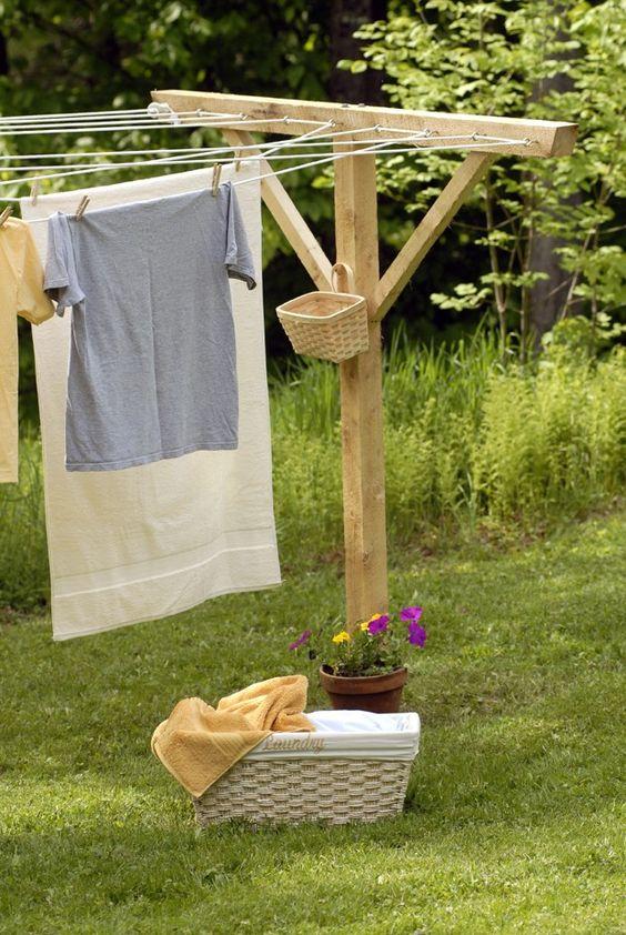 How To Install Clothesline Poles Into, Round Clothesline Pole