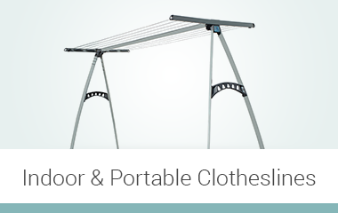 Indoor and Portable Clotheslines