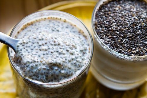 Chia Seeds For Fiber, omega 3 and other good stuff