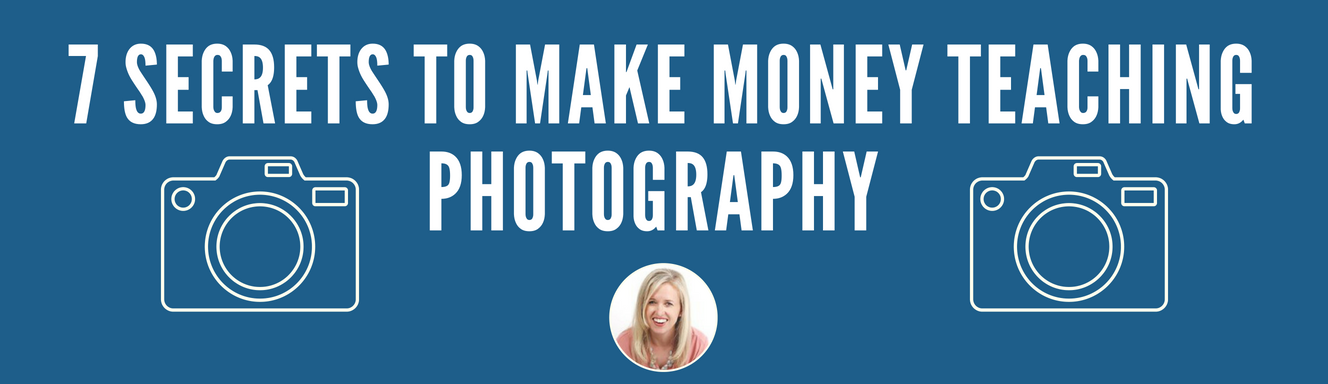 How to make extra money teaching photography classes