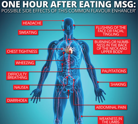 potential msg health effects