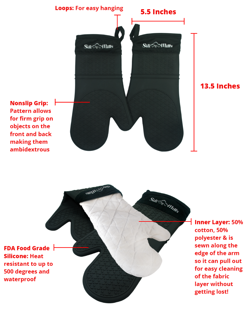 special features oven mitts