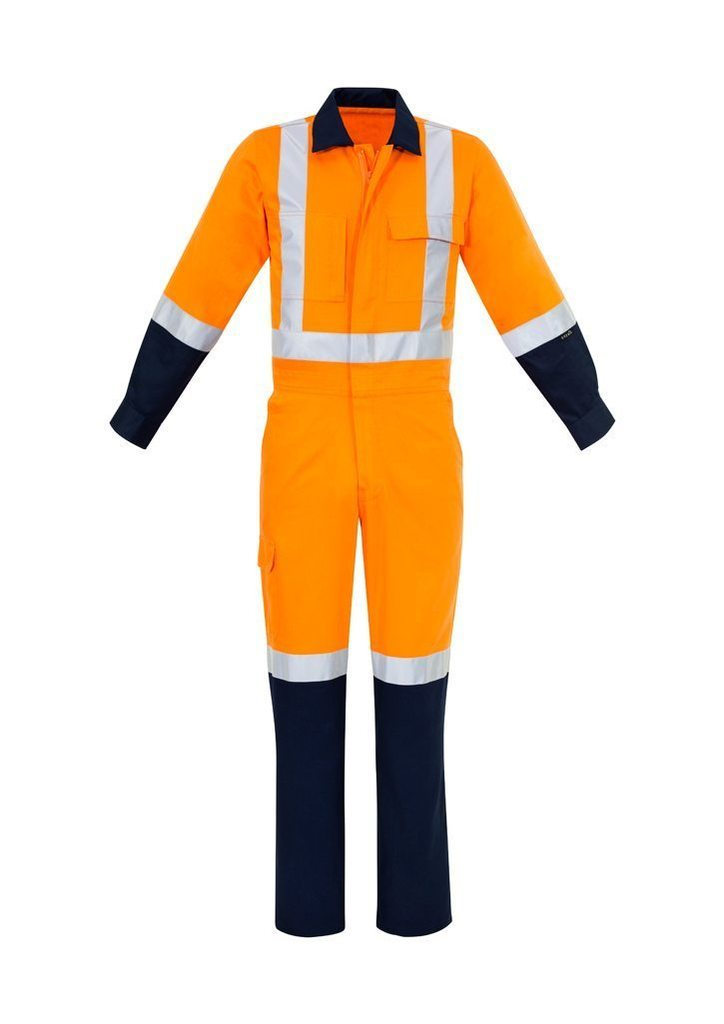 ZC606 ORANGE HI VIS OVERALLS