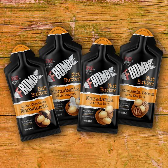 FBOMB Nut Butter Sample Pack