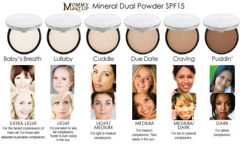 Mineral Dual Powder - Talc-free, Fragrance Free, Mineral Powder Foundation with SPF15