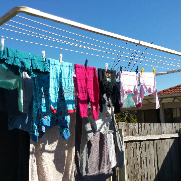 Clothesline Bruce 2617 ACT