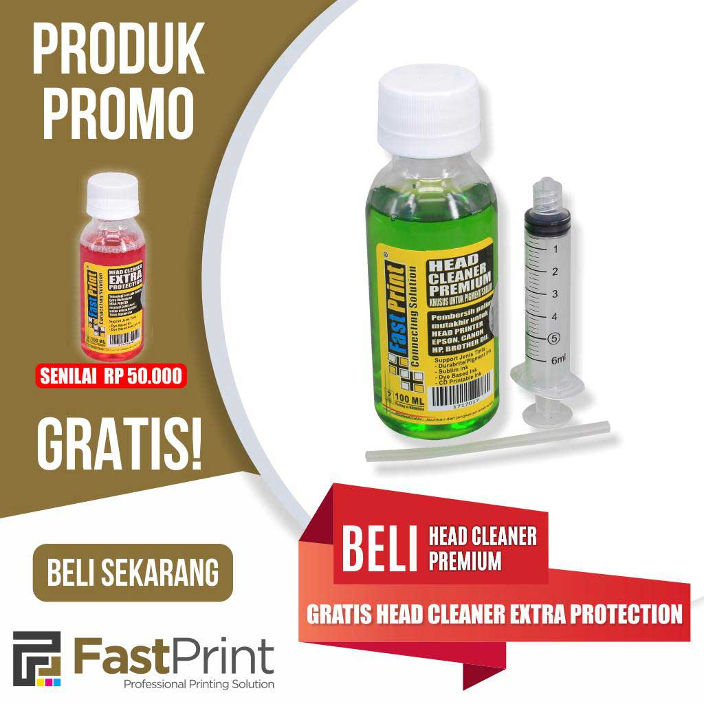 Promo Head Cleaner Premium + Protection