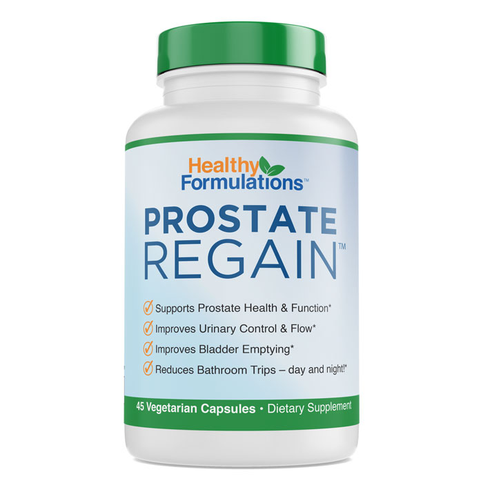 Try Prostate Regain for FREE - Best Natural Prostate Supplement