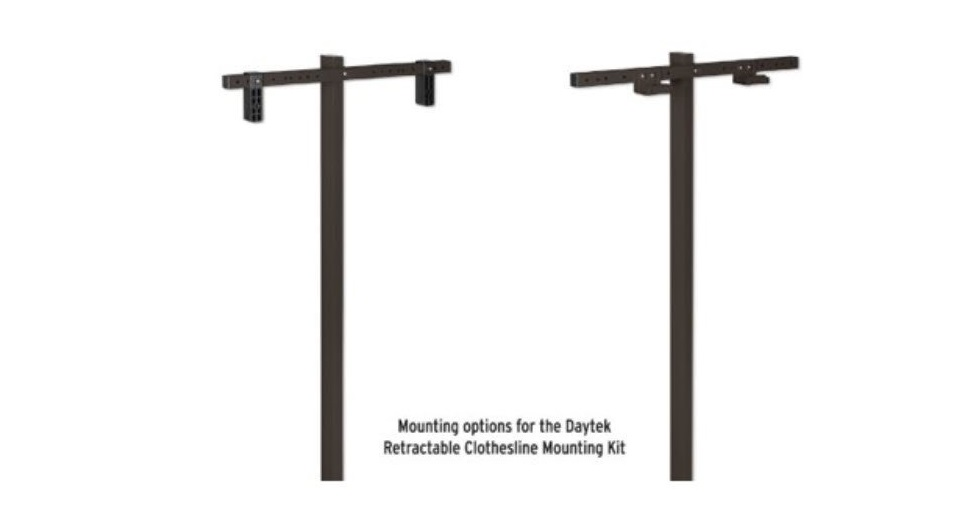 Retractable Clotheslines Mount Kit