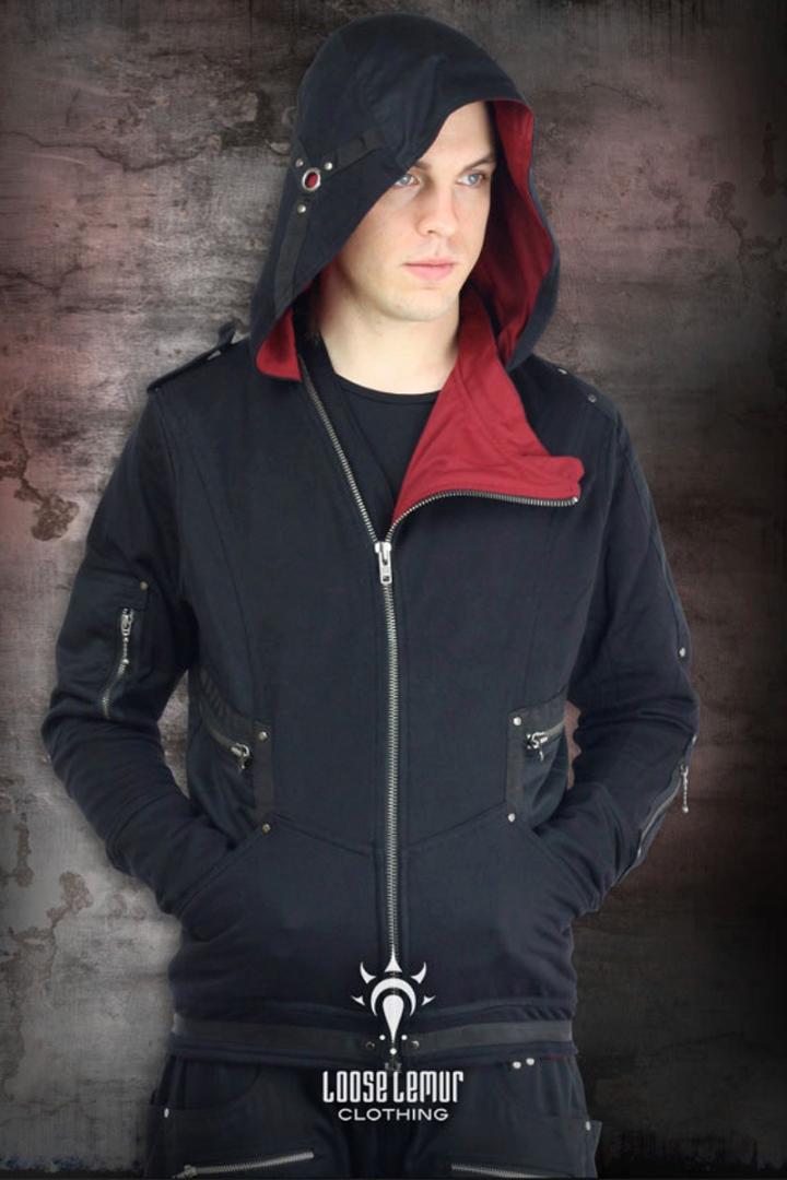 sentinel hoodie alternative street wear hoodie loose lemur