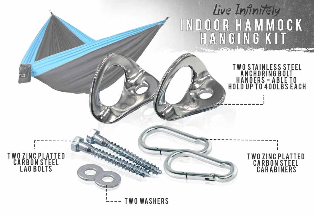 indoor hammock hanging kit