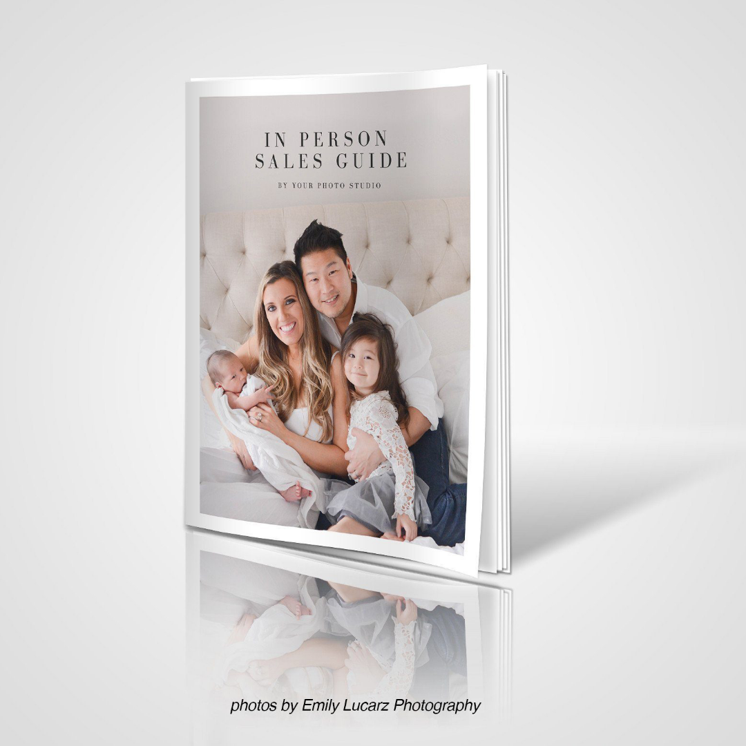 In Person Sales Photography Marketing Template