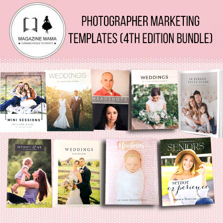 Photography Marketing Template Bundle by Magazine Mama