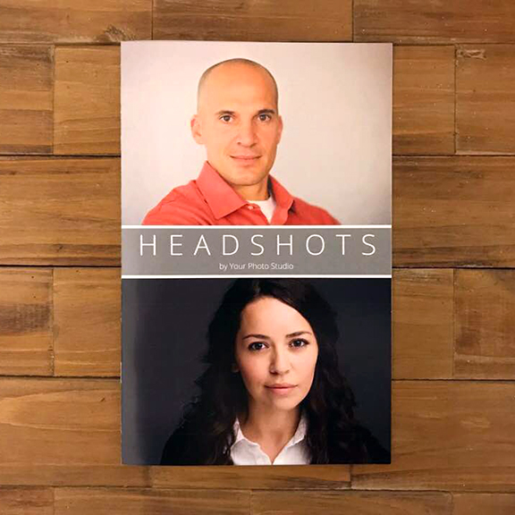 Headshot Photography Marketing Template