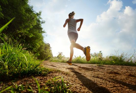 Lente joggen