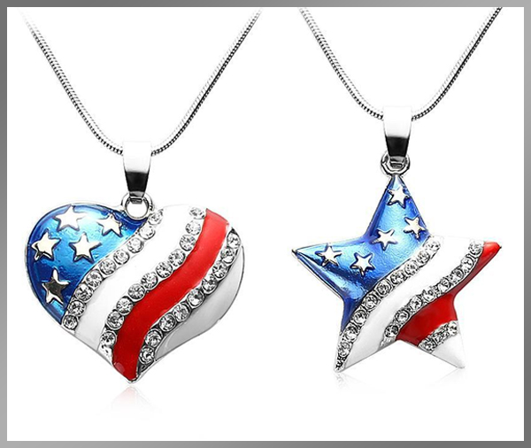 America Tribute Necklace