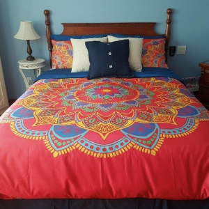 Colorful Mandala bedding
