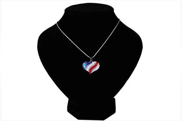 America Tribute Necklace