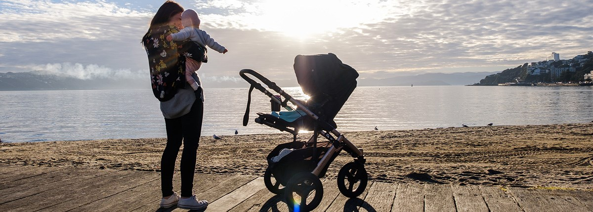 Let's Go Kiddo! With Edwards & Co Strollers - Now Available in Wellington at Baby Box!