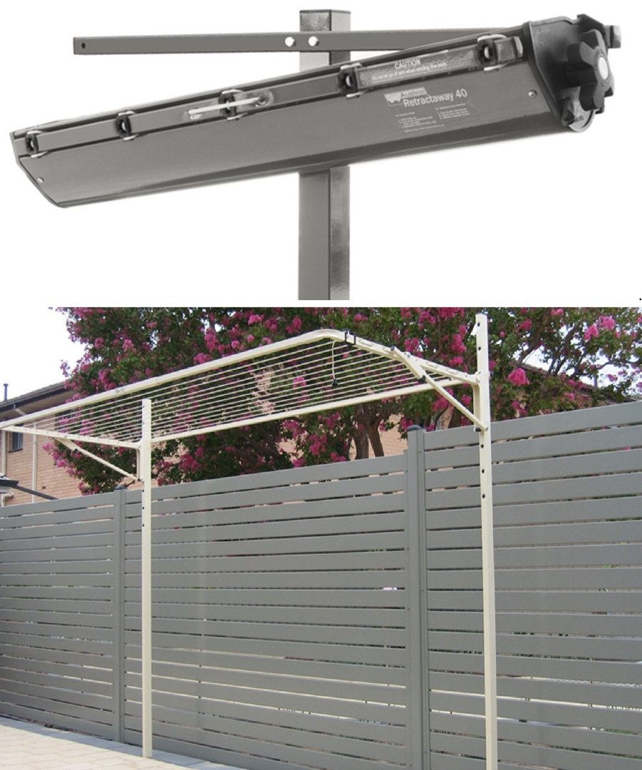 Retractable and Folding model Clothesline