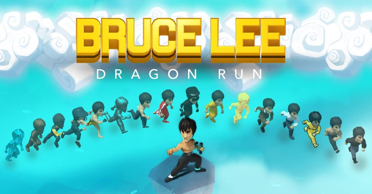 Bruce Lee in Dragon Run, the new iOS game from Ketchapp